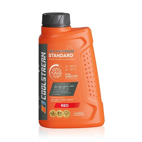 Антифриз Coolstream Standard Red 1кг