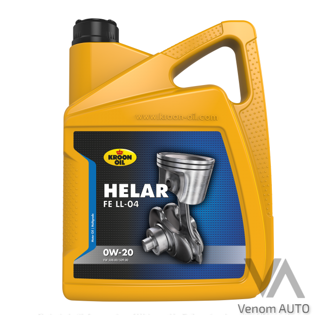 Kroon Oil Helar FE LL-04 0W-20 5л