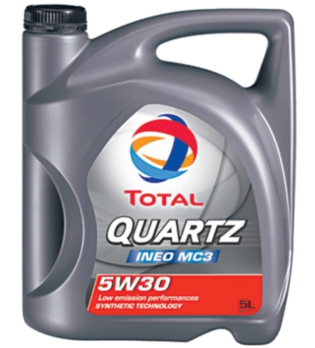 Total QUARTZ INEO MC3 5W-40 4л